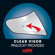 Visor claro incluye Pinlock