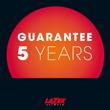 Garantía de 5 años (si está registrado)